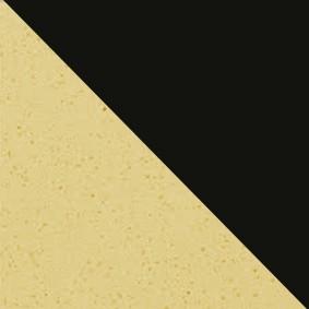 Crème Moucheté / Noir